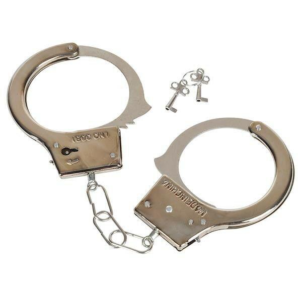 Детские металлические наручники