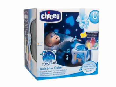 Ночник для детей Chicco Rainbow Cube